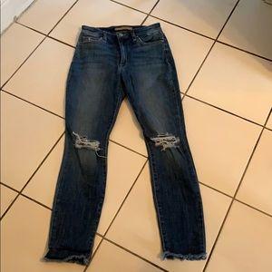 Joes high rise skinny jeans